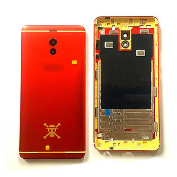 Back Cover with Side Keys for Meizu M6 Note -Red