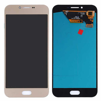 Complete Screen Assembly for Samsung Galaxy A8 (2016) -Gold