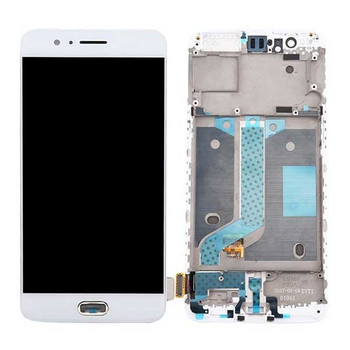 Complete Screen Assembly with Bezel for Oneplus 5 -White