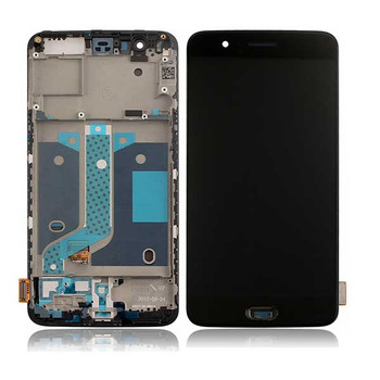 Complete Screen Assembly with Bezel for Oneplus 5 -Black