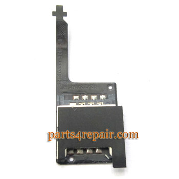 HTC Incredible S SIM Card Socket Flex Cable OEM