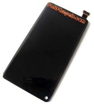 Complete Screen Assembly without Iron Stand for Nokia N9