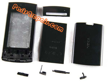 Nokia 5250 full set of Housing Cover from www.parts4repair.com