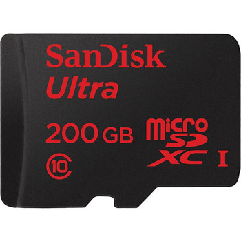 Sandisk 200GB Micro SD 90MB/S UHS-I Flash Memory Card TF