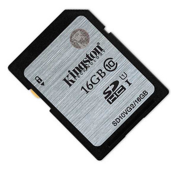 Kingston 16GB SDHC 80MB/S UHS-I Flash Card