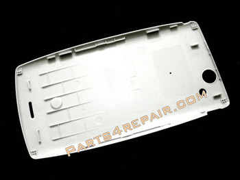 Back Cover for Sony Ericsson Xperia Arc S LT18I / LT15I  -Pure White from www.parts4repair.com
