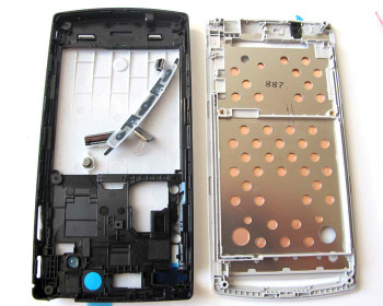 Full Housing cover for Sony Ericsson Xperia Arc S LT18I / LT15I  -Pure White from www.parts4repair.com