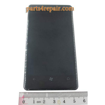 we  can offer Nokia Lumia 800 Complete Screen Assembly with Bezel