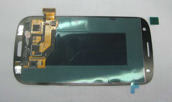 we can find original Samsung I9300 Galaxy S III Complete Screen Assembly without Bezel -Blue