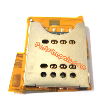 Sony Ericsson Xperia Arc S lt18i SIM Card Holder from www.parts4repair.com