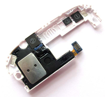 Samsung I9300 Galaxy S III Ringer Buzzer Loud Speaker -White from www.parts4repair.com