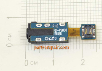 Samsung P6800 Galaxy Tab 7.7 Earphone Jack Flex Cable