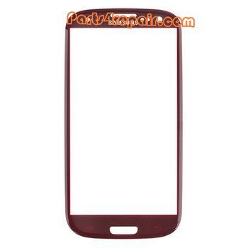 Touch Lens for Samsung I9300 Galaxy S III -Red