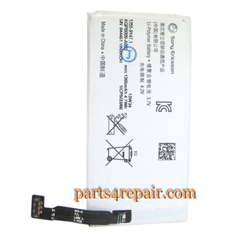 Built-in Battery for Sony Xperia go ST27i