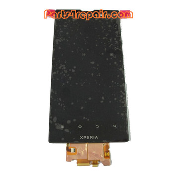 Complete Screen Assembly without Bezel for Sony Xperia ion LTE LT28