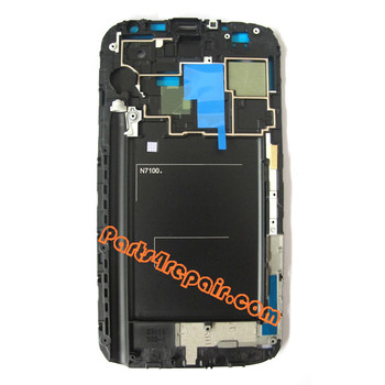 We can offer Samsung Galaxy Note II N7100 Front Faceplate for LCD Screen