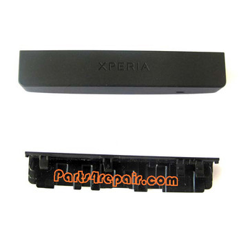 Bottom & Top Cover for Sony Xperia P lt22i -Black