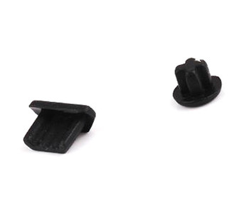 Samsung Universal Dock Cover + Headphone Dust Cap -Black