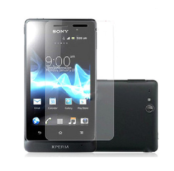 Sony Xperia go ST27i Clear Screen Protector Shield Film -3X