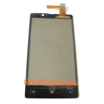 Nokia Lumia 820 Touch Screen
