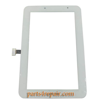 Samsung Galaxy Tab 2 7.0 P3100 Touch Screen with Digitizer(WIFI Version)  -White from www.parts4repair.com