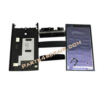 Full Housing Cover Replacement for Sony Xperia P -Black from www.parts4repair.com