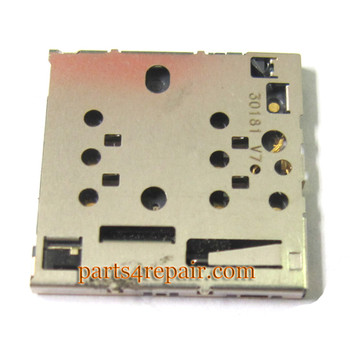 SIM Card Holder for Nokia Lumia 820 from www.parts4repair.com