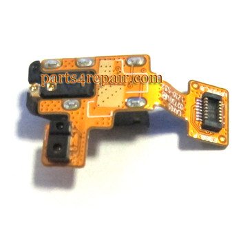 Earphone Jack Plug Flex Cable for LG Nexus 4 E960