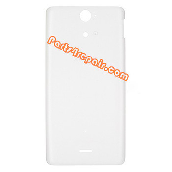 Back Cover for Sony Xperia V LT25 -White