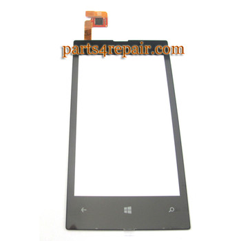 Touch Screen Digitizer for Nokia Lumia 520 from www.parts4repair.com