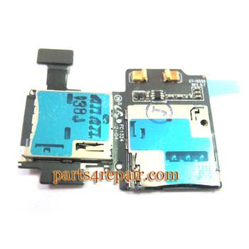 SIM Holder for Samsung I9500 Galaxy S4