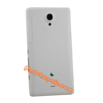 Back Cover for Sony Xperia T LT30p -White
