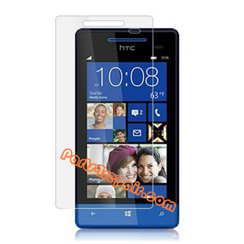Clear Screen Protector Shield Film  for HTC Windows Phone 8S