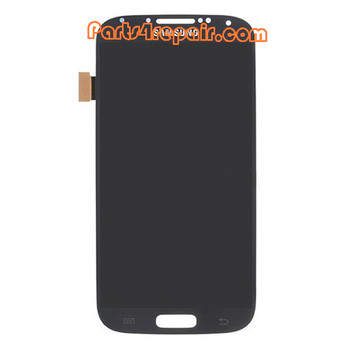 Complete Screen Assembly for Samsung I9500 Galaxy S4 -Blue