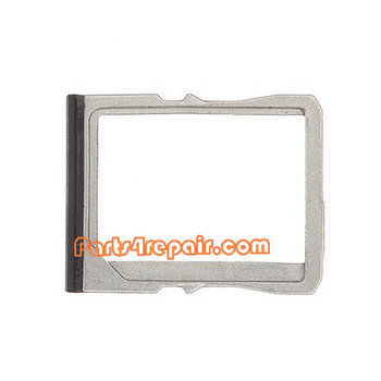 SIM Tray for HTC One M7 -Black from www.parts4repair.com
