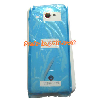 Back Cover for HTC Butterfly X920E -White from www.parts4repair.com