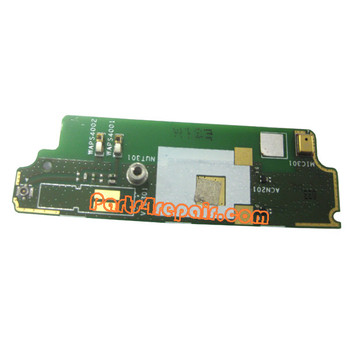 PCB Board for Sony Xperia miro ST23I from www.parts4repair.com