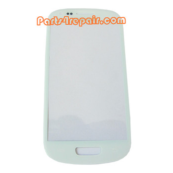 Glass Lens OEM for Samsung I8190 Galaxy S III mini -White from www.parts4repair.com