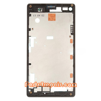 We can offer Front Cover for Sony Xperia L S36H -Black