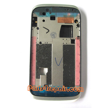 Full Housing Cover for HTC Desire V T328W -White