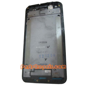 We can offer Front Housing Bezel for HTC Butterfly -Black