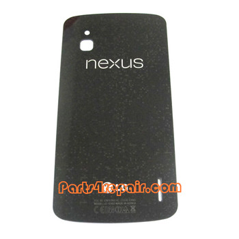 Glass Back Cover for LG Nexus 4 E960 from www.parts4repair.com