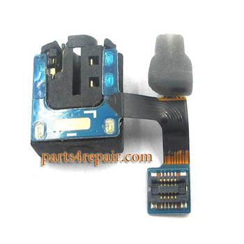 Earphone Jack Flex Cable for Samsung P6200 Galaxy Tab 7.0 Plus