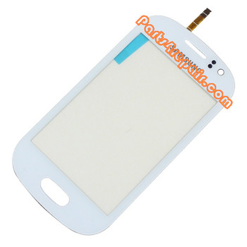 Touch Screen Digitizer for Samsung Galaxy Fame S6810 -White