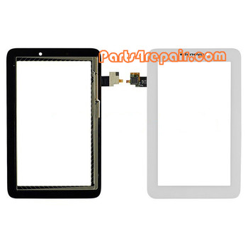 Touch Screen Digitizer for Lenovo Idea Tab A2107 -White from www.parts4repair.com