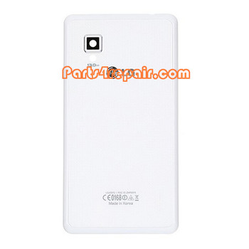 Back Cover with NFC & Other Singals for LG Optimus G E975 -White