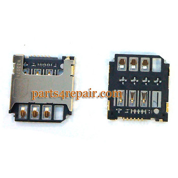 SIM Contact for Samsung Galaxy S4 mini I9190 I9195 from www.parts4repair.com