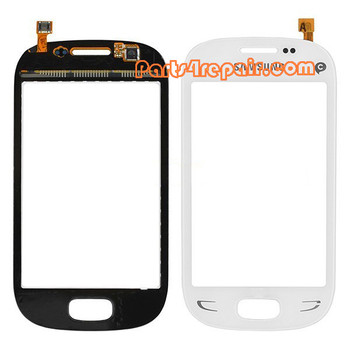 Touch Screen Digitizer for Samsung Rex 90 S5292 -White from www.parts4repair.com