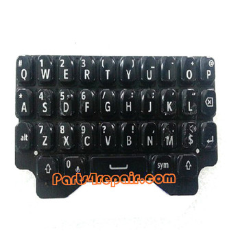 Keypad Membrane for BlackBerry Q5 -Black