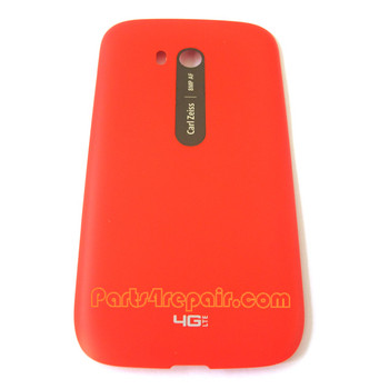 Back Cover with NFC for Nokia Lumia 822 -Red